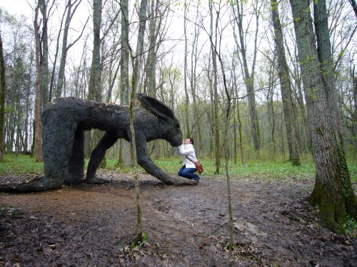 """Nashville's Cheekwood """"sculpture path"""""""